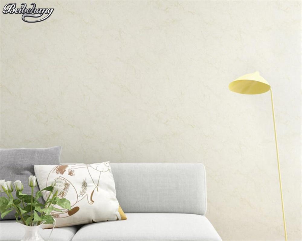 Beibehang modern home decoration wallpaper living room background wallpaper Meter yellow Beige 3D wallpaper roll papel de parede