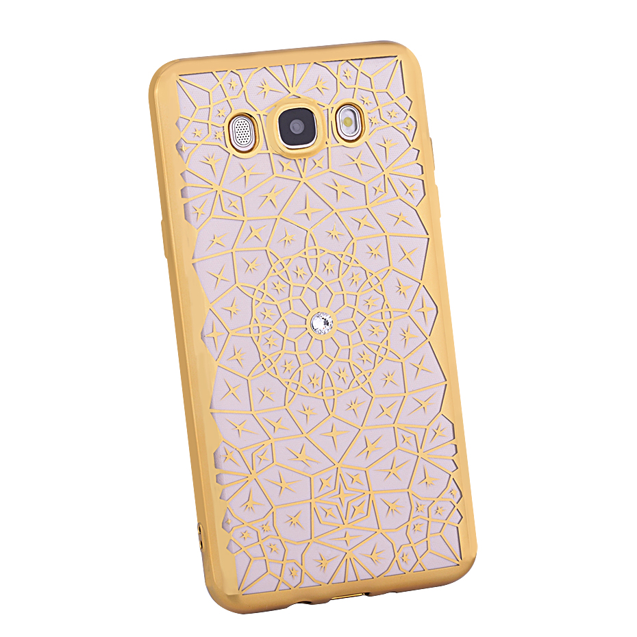 DAGUDON Girly Case For Samsung Galaxy J7 2016 J710f Silicone Luxury Bling Diamond Transparent TPU Cover For Samsung J7 2016 case