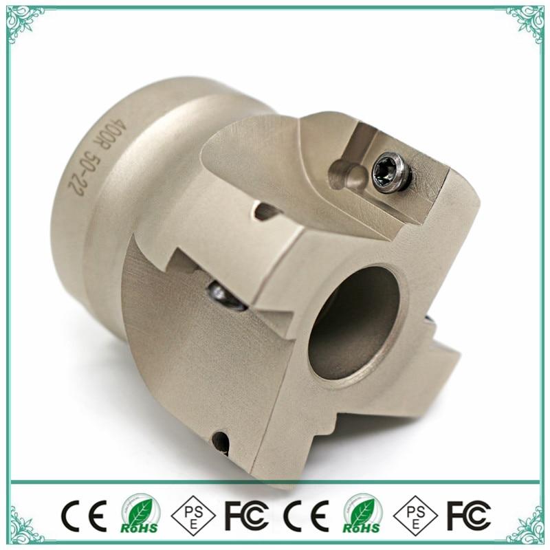 BAP400R 100-32 mm Inner hole 90 degrees 6F Install APKT1604 APMT Carbide insert CNC Milling cutter knife dish