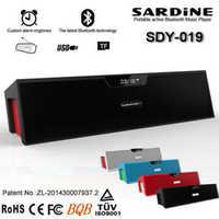 SDY-019 inalámbrico Bluetooth altavoz amplificador mini portátil de altavoces HIFI Radio FM altavoz Bluetooth gratis españa Rusia SP019