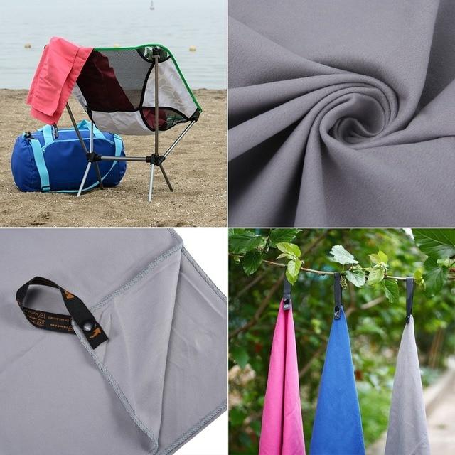 2pc/set Outdoor Sports Quick-Dry Bath Set Towel Microfiber Non Slip Towel for Bath Gym Camping Yoga Mat Beach Towel Blanket 5