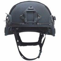 ISO Certified MICH 2000 NIJ IIIA military helmet Bulletproof Helmet Head Protection aramid Ballistic Helmet for War Games