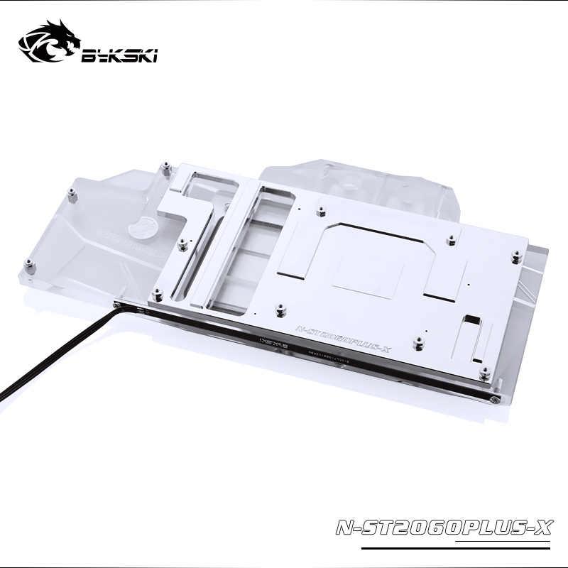 Bykski N-ST2060PLUS-X وحدة معالجة الرسومات/VGA غطاء كامل كتلة تبريد المياه مع مصباح ليد لzotac RTX 2060 المتطرفة زائد OC6