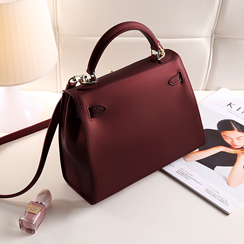 Bolish Sprind and Summer Candy Color Silica Gel Material Women Top-handle Bag Fashion Lock Women Crossbody Bag Women Bag