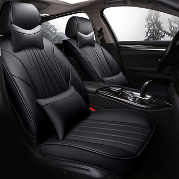 WLMWL Universal Leather Car seat cover for Chery all models Ai Ruize A3 Tiggo X1 A5 E3 V5 QQ QQ3 QQ6 E5 BSG car accessories