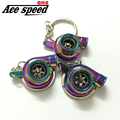Ace speed-Neochome color Spinning Racing Turbo Turbine Keychain Key Chain key Ring