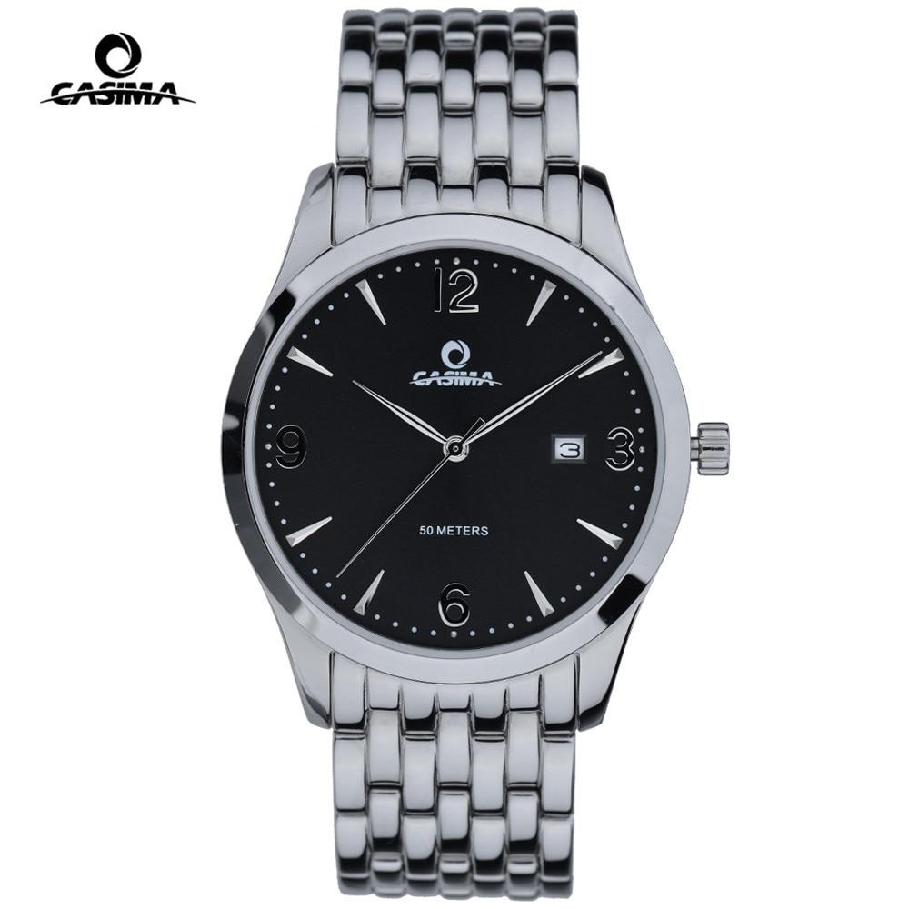 Relogio Masculino CASIMA Montre hommes montres Top marque de luxe calendrier d'affaires Quartz Montre-bracelet hommes robe horloge Montre Homme