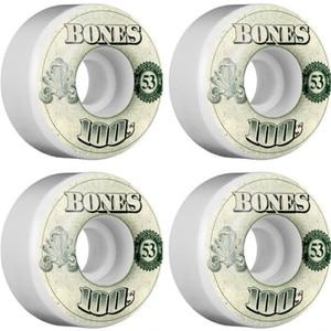 Image 5 - USA Brand 100S OG Skateboard Wheels 4PCS 52 53 54mm Double Rocker Wheel for Skateboarding Deck Durable Aggressive Rodas Skate