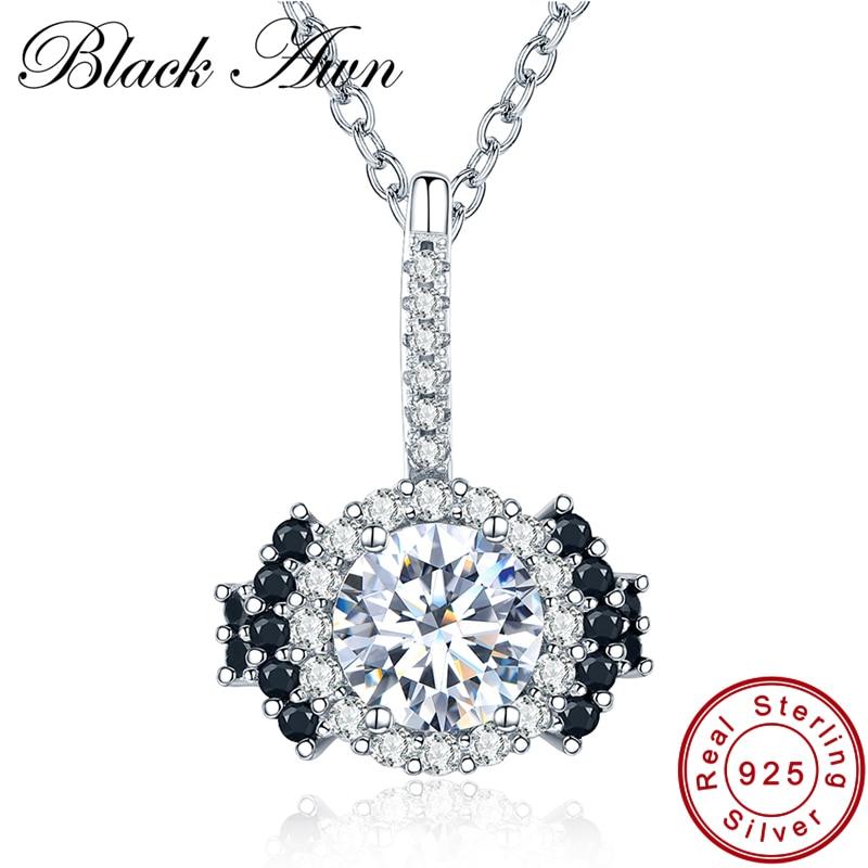 [BLACK AWN] 925 sterling zilveren fijne sieraden Trendy - Fijne sieraden