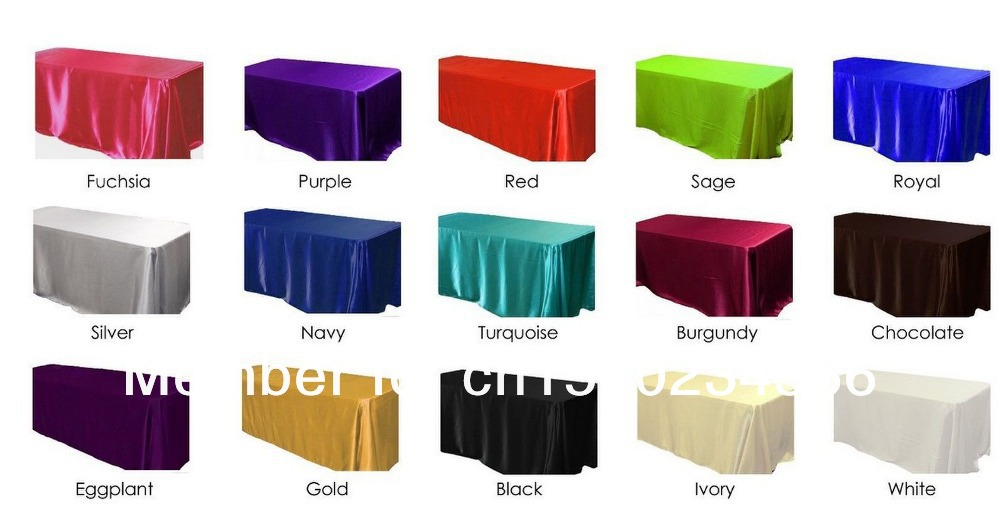 120CM(w)X120CM(L)Rectangle Satin Tablecloth Wedding Table Skirt Banquet Table  Skirting Part Table Skirt With Swag Table Cover On Aliexpress.com   Alibaba  ...