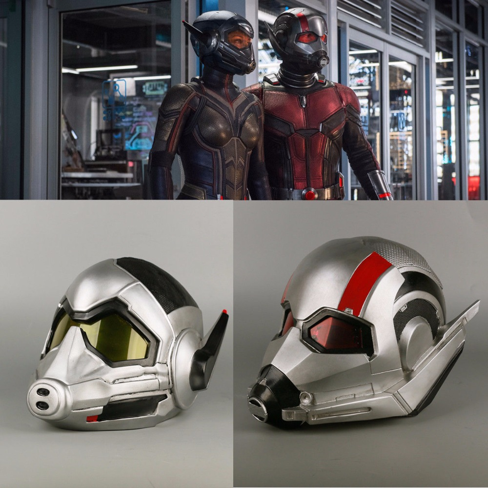 2018 Wasp Helmet Cosplay Ant-Man and the Wasp Helmet Superhero PVC Props Woman Halloween Party