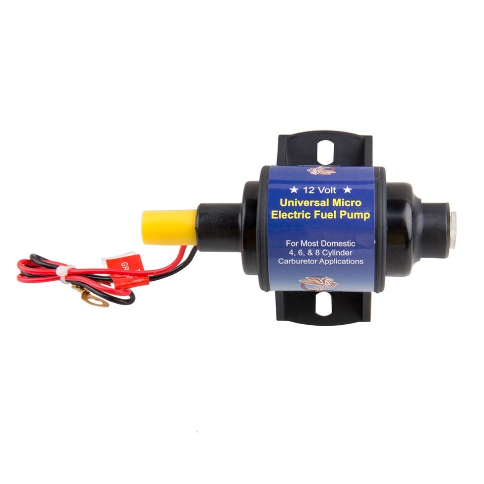 35 GPH 4-7PSI 12V Universal Electric Fuel Transfer Booster Diesel Oil Pump