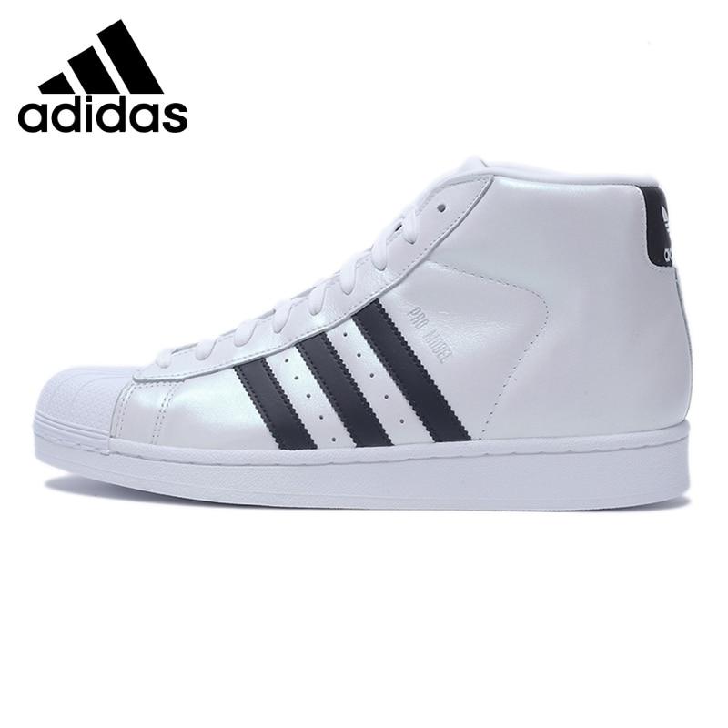 Prix pour Original Nouvelle Arrivée Adidas Originaux Hommes de Haute Top Classiques Chaussures de Skate Sneakers