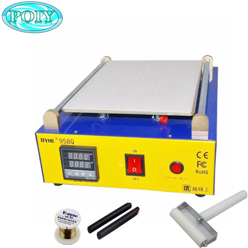 UYUE 958Q 800W 11 inch for iPad 2 Glass Vacuum LCD Separator Split Screen Repair Machine