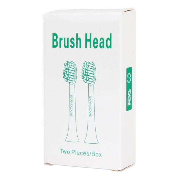 Image 5 - 1pack/2pc  Toothbrushes Head for Sarmocare S100/200 Ultrasonic Sonic Electric Toothbrush fit Digoo DG YS11 Toothbrushes Head-in Electric Toothbrushes from Home Appliances