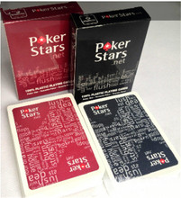 60sets Texas Holdem Plastic playing card game poker cards Waterproof and dull polish poker star Board games