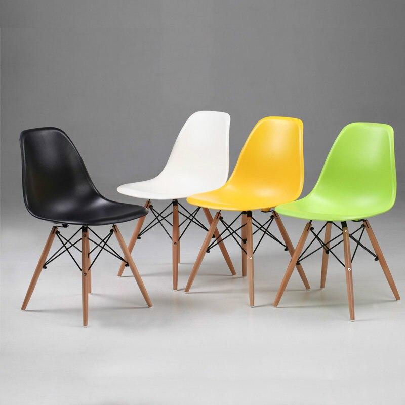 Accueil moderne Simple dossier paresseux négociation chaise bureau tabouret à manger chaise nordique loisirs Net rouge WF610145