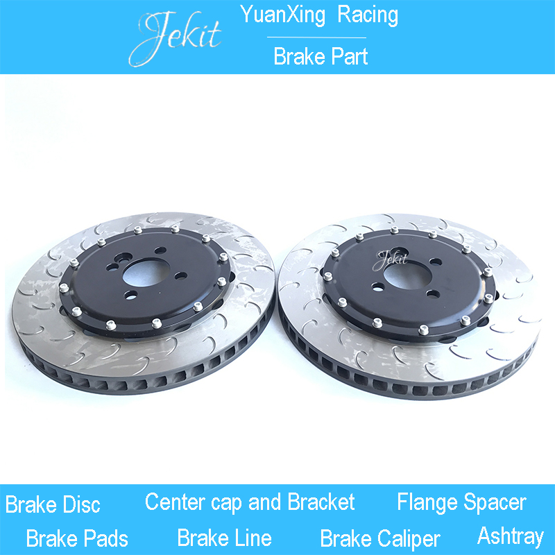 Jekit Brake disc 355*32mm with center cap 5*100 center hole for Subaru sti for toyota previa front