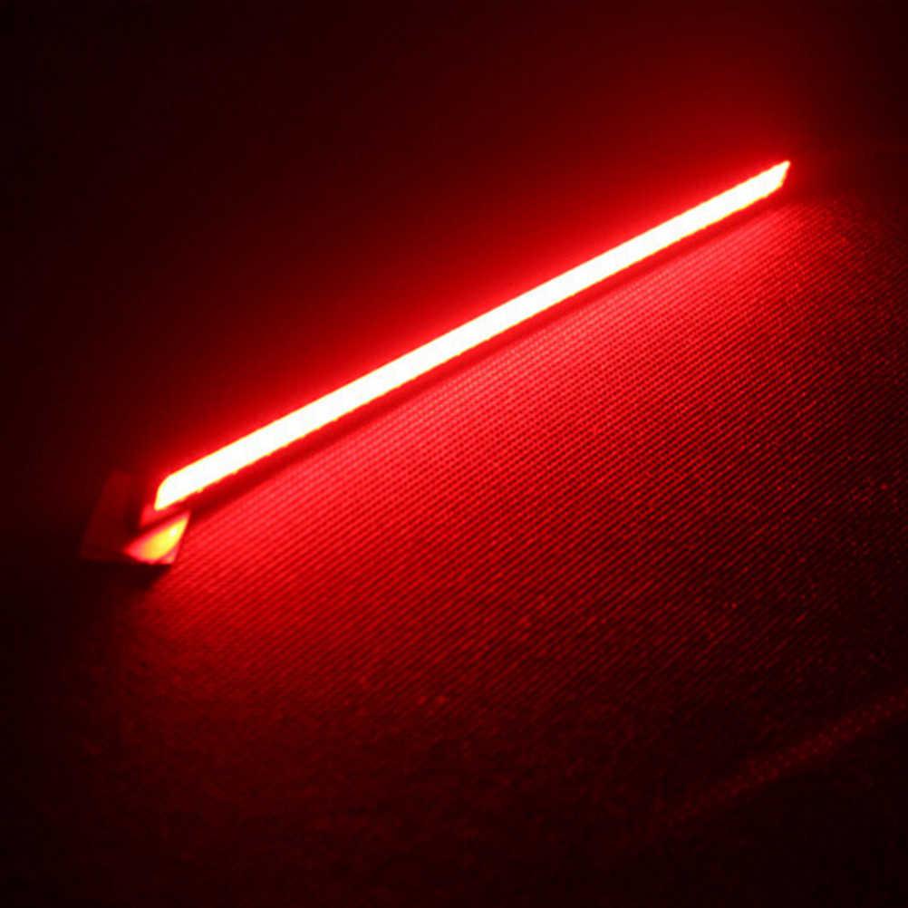 12V 17 Cm COB LED Mobil Truk Auto DRL Kabut Lampu Hitam Shell Lampu Merah Tahan Air Mengemudi Siang Hari lampu Kabut 1Pc