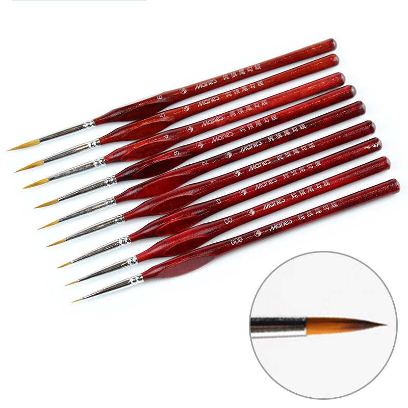 Fine Detail Paint Brushes