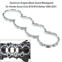Aluminum Engine Block Guard Blockguard For Honda Acura Civic B16 B18 Series 1990 2001 Car Styling