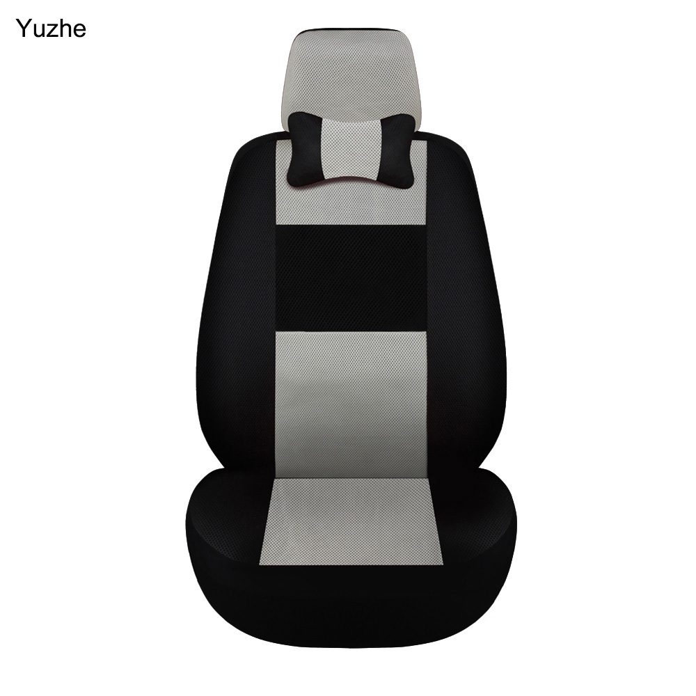 Yuzhe 1 PCS/SET Universal automobiles car seat covers for Volkswagen vw passat b5 b6 b7 polo 4 5 6 7 golf tiguan car accessories yuzhe leather car seat cover for volkswagen 4 5 6 7 vw passat b5 b6 b7 polo golf mk4 tiguan jetta touareg accessories styling