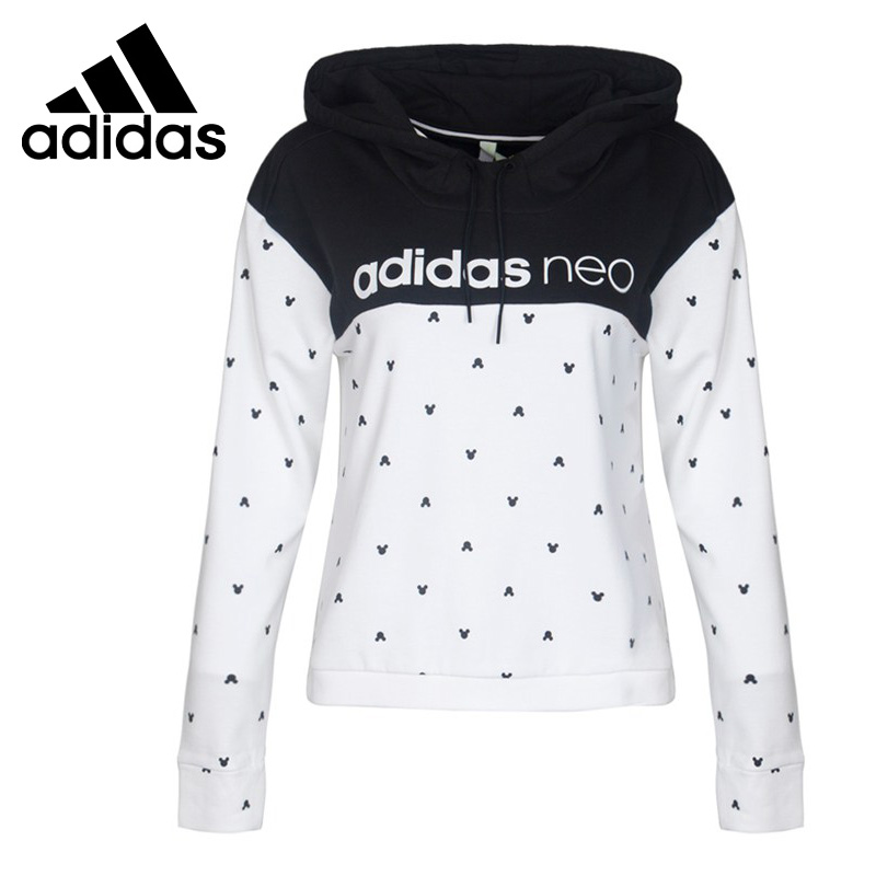 все цены на Original New Arrival 2017 Adidas NEO Label W HDY Women's Pullover Hoodies Sportswear онлайн