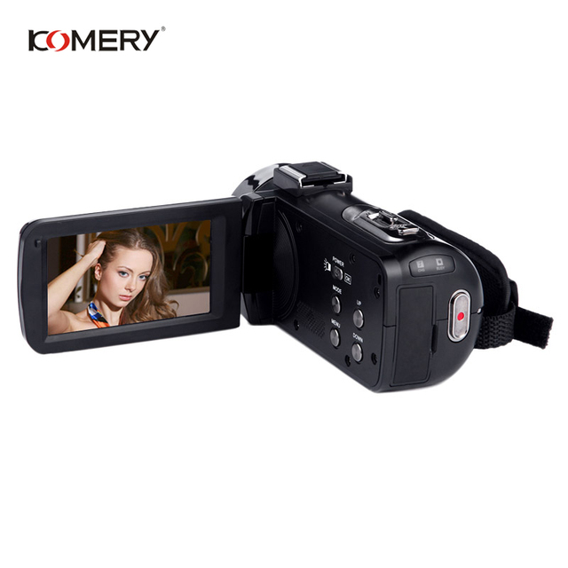 KOMERY Video Camera 1080P Full HD Portable Digital Video Camera 16X Digital Zoom 3.0 Inch Touch LCD Screen Camcorder With Wifi 3