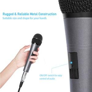 Image 4 - MAONO K04 Professionale Microfono Dinamico Cardioide Vocal Wired MICROFONO Con Cavo XLR Plug And Play Microfone per la Fase Karaoke KTV
