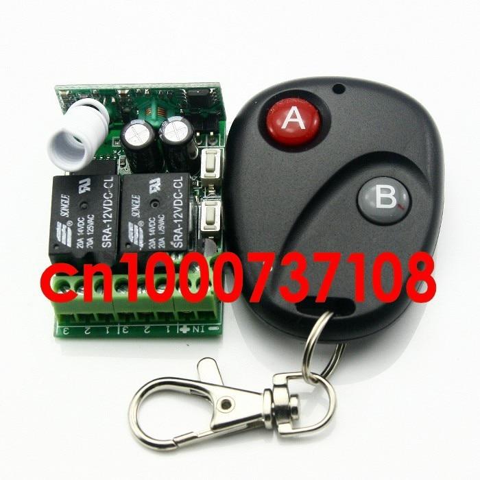 a4ddb798cad5 12 В 2CH (канал) беспроводной системы дистанционного управления для  applicances шторы передатчик и приемник