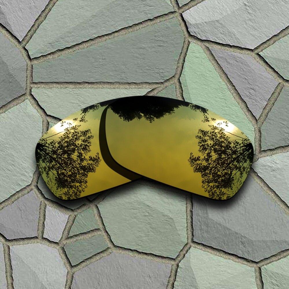960b0a620 Cheap Gafas de sol doradas amarillas polarizadas lentes de repuesto para  akley Hijinx, Compro Calidad
