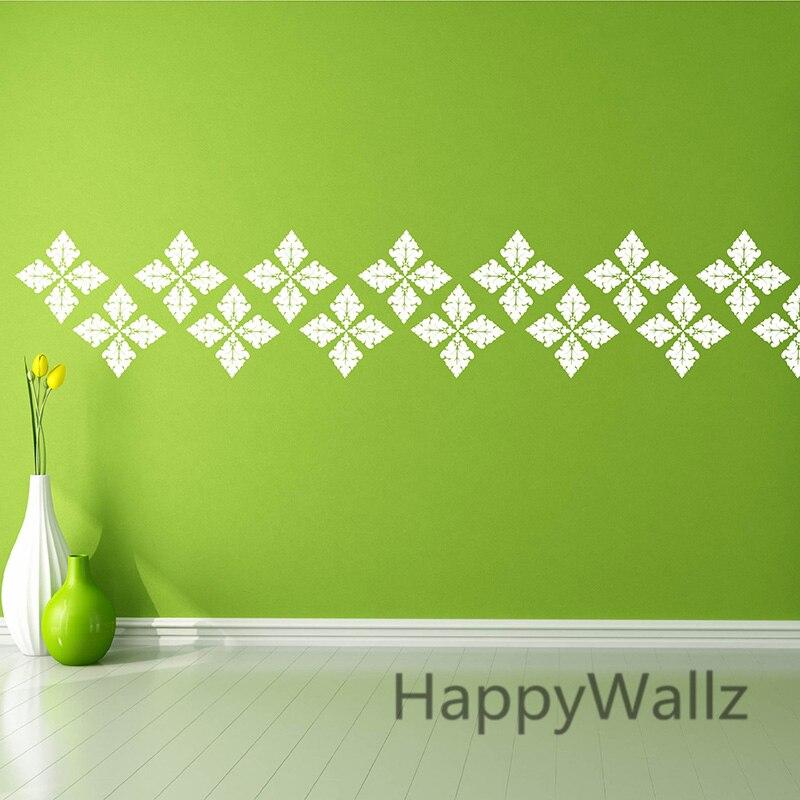 Aliexpresscom  Buy DIY Damask Wall Sticker Decorative Damask - Custom vinyl wall decals damask
