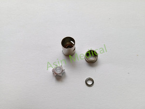5 sets x nsk spare parts standard Cartridge dental high speed hand piece PANA AIR push button and wrench