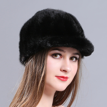 MIARA.L new mink hat mink fur hat lady winter warm cap rider cap wholesale cap manufacturer mink fur hats ladies fashion hats 2016 hot selling lady s the new mink fur mink hat knit cap children winter thickening warm winter hat free shipping 3color sd21