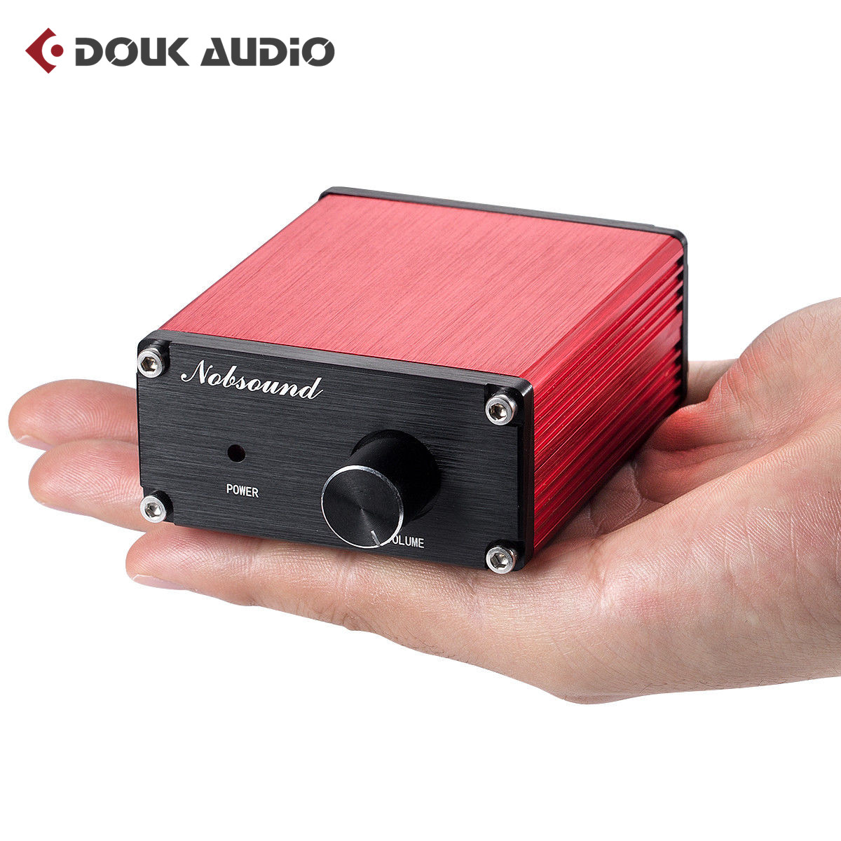 Nobsound Mini TPA3116 Digital Power Amplifier HiFi Stereo Audio Class D Amp 2.0 Channel 50W*2 2017 new k guss gu50 hifi 2 0 class d tpa3116 mini borne audio power amplifier amplificador 2 50 w dc12v to dc24v