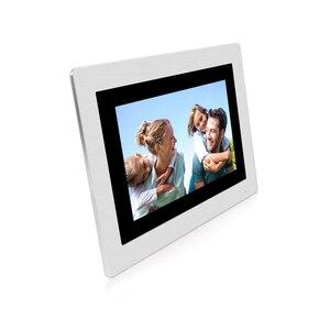 "Image 5 - Free Shipping WIFI IP 7"" Touch Screen LCD Video Intercom Door Phone Record Kit Code Keypad IC Waterproof Camera Electric Lock"