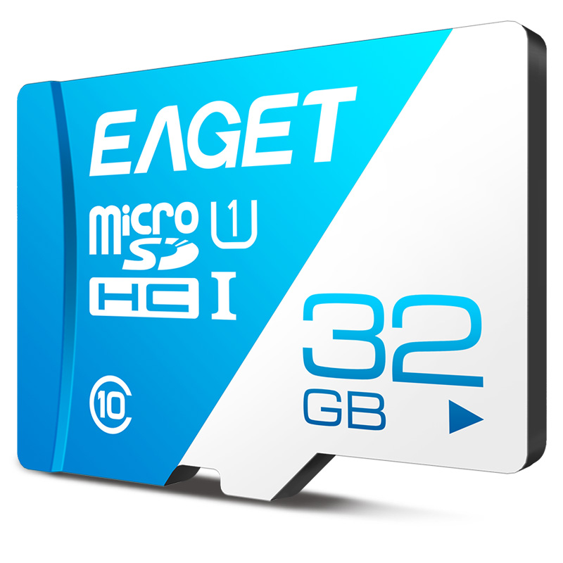 EAGET Micro SD Card Class10 Memory Card 32GB 16GB Micro SDXC TF Card 64GB High Speed UHS-I Flash For Phones Tablet  New