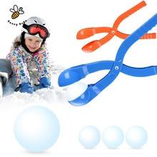 Лепить снежок снежки плесень песок компактный чайник легкий спорта зима спорт