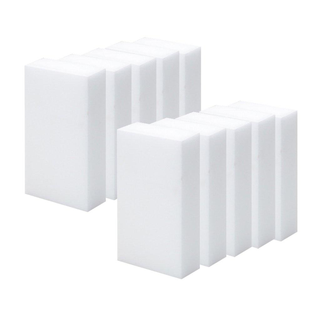 10 Pack Magic Cleaning Sponge Melamine Foam Eraser Stain Dirt Remover Multi-functional Nano Sponge Environmentally Friendly