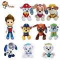 Brinquedos Do Cão de Patrulha canina Russo Anime Figuras de Ação Boneca Filhote de cachorro de Brinquedo Do Carro Patrulha Canina Patrulla Juguetes Presente para Criança