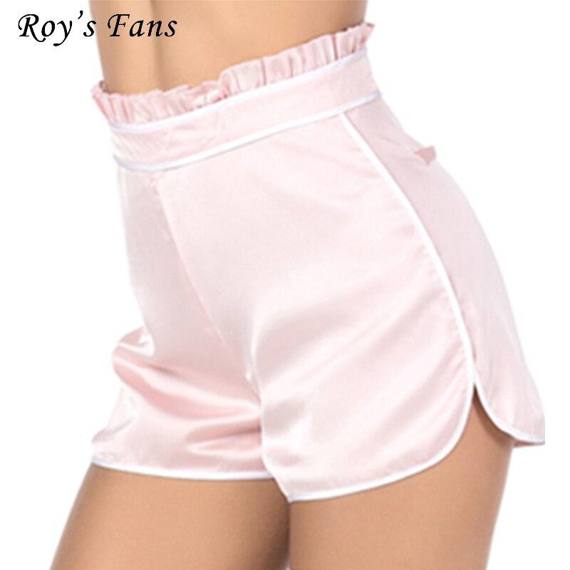 Roy Fans de Femmes Automne Hiver Sexy de Ruches Casual Parti Soirée Club Rose Vintage Shorts Femelle Élégant Shorts