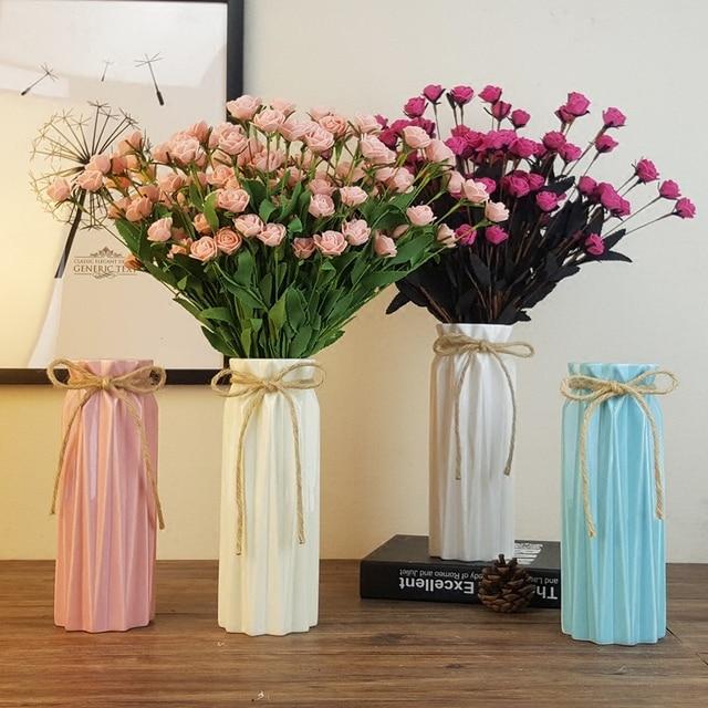 Living Room Flower Vases Contemporary Interiors Ceramic Modern Elegant Decorative Vase For Home Decor And Office