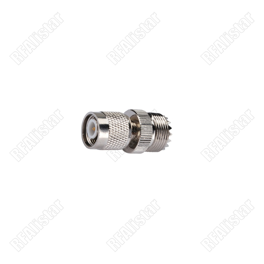 30 Pieces UHF SO239 Type Female Jack to TNC Male Plug RF Adapter Coaxial Cable Connector