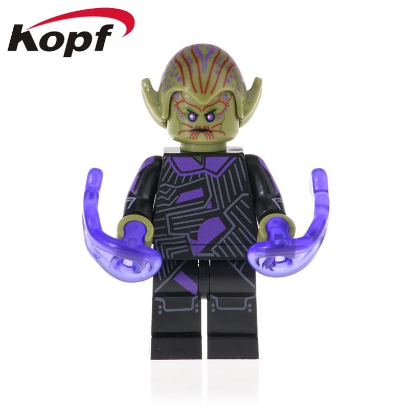 Single Sale Building Blocks Captain Avengers Carol Danvers Bricks Action Toys Gift For Children XH 1011