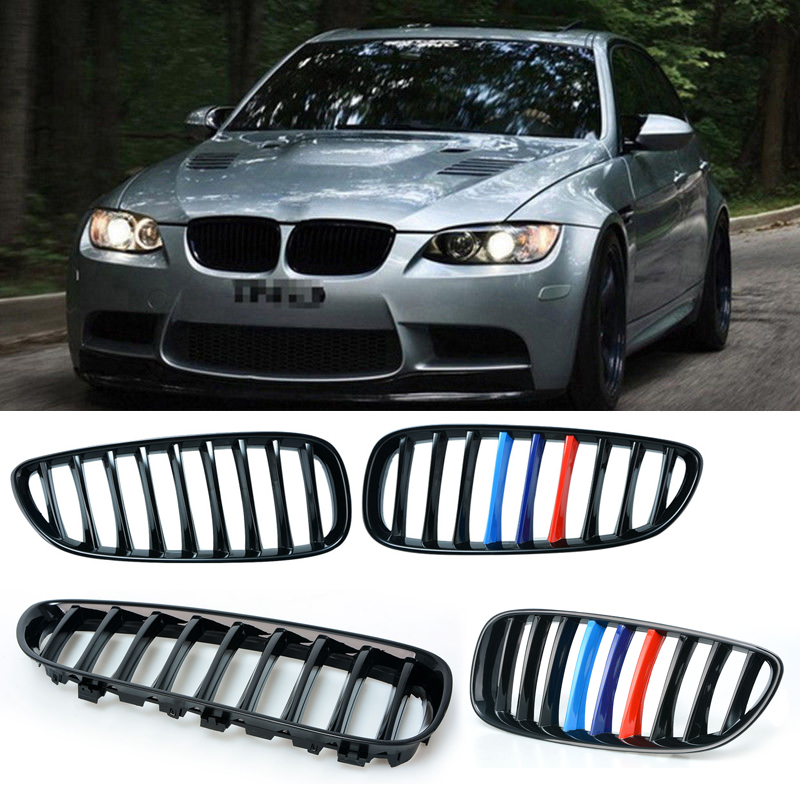 2016 Bmw Z4 Convertible: 1 Pair Car Front Grill Black Kidney Grille For BMW Air
