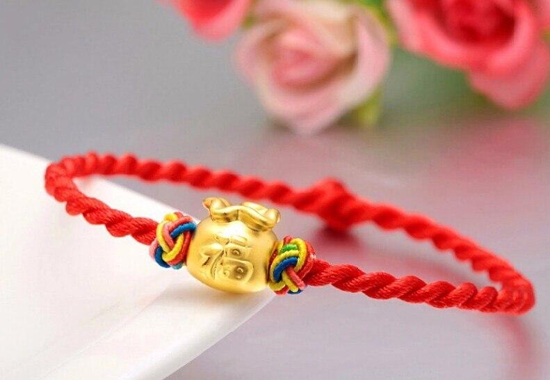 2015 nouveau Bracelet en or jaune 24 K