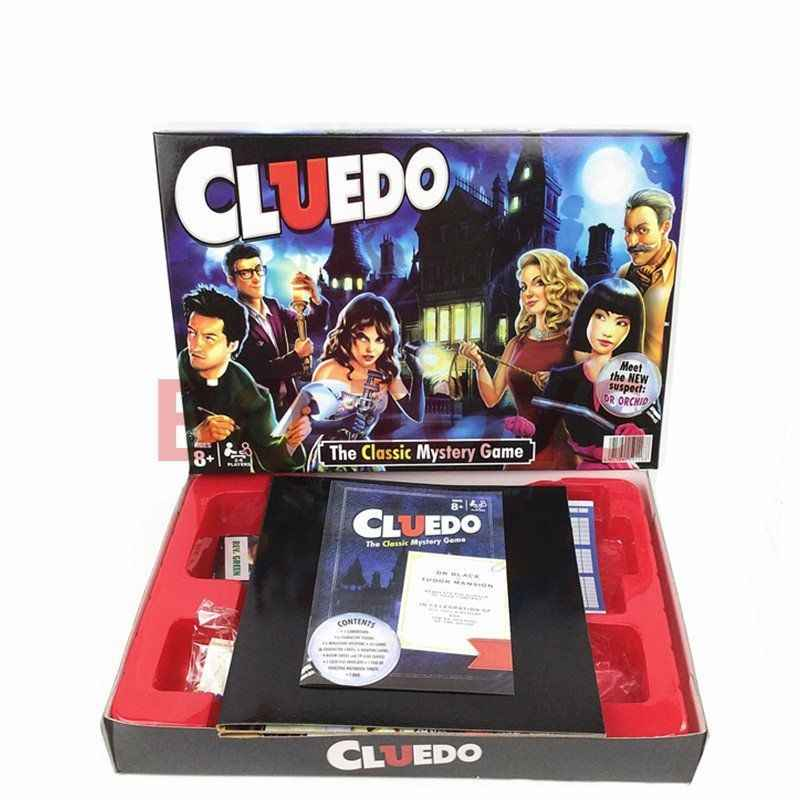Detective Game for Cluedo Classic Mystery Board Game Funny Party Kids  Detective Reasoning Traditional Puzzle Game