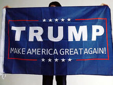 2016 Wholesale Donald J.Trump 90X150cm  Foot Flag Make America Great Again for President Ds