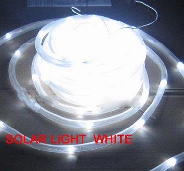 White solar rope light 100 led 12m string dance halls hotels white solar rope light 100 led 12m string dance halls hotels restaurants commercial aloadofball Gallery
