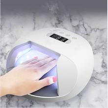 Nail Light 48W Nail Desiccant For Gel Varnish And 30 Lamp Beads LED Battery Selection Quick Drying Dry Nail Dryer цена